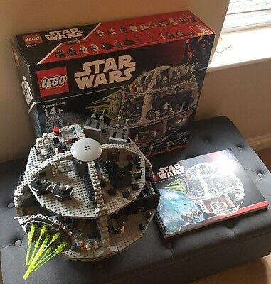 LEGO STAR WARS DEATH STAR 10188 BOXED 100% Complete With Figures & Instructions