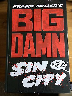 BIG DAMN SIN CITY by Frank Miller (Hardback, 2014) NEW AND SEALED