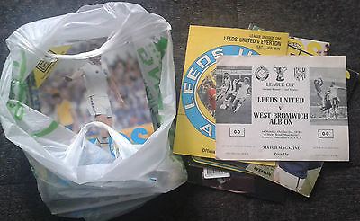 Leeds United Programmes Bulk Collection 1960's+ (44)
