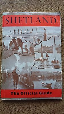 Shetland Vintage Holiday Guide Scotland Sailings Hotels Passenger Ships Maps