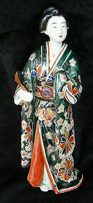 Antique Imari Japanese Geisha Figurine - Late 19th century - Meiji period