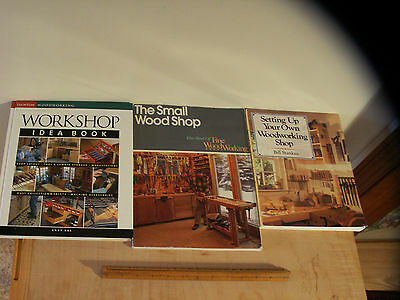 Woodworking Shop Idea Books - 3 books from Fine Woodworking & Sterling Publish