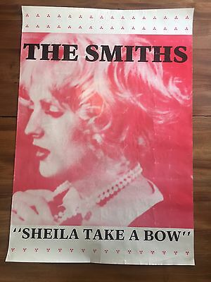 The Smiths Poster Sheila Take A Bow Poster Appox size 900 x 626cm Morrissey