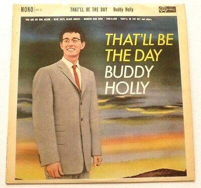 Buddy Holly - That'll be the day   UK VINYL LP