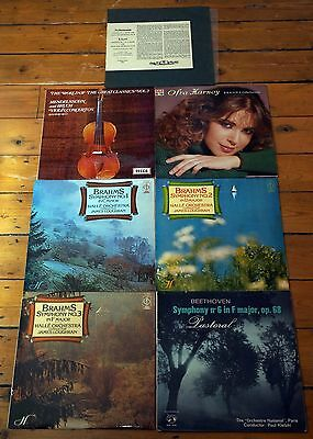 Job Lot German Classical Vinyl LPs Brahms Beethoven Schumann All VG+ To EX+