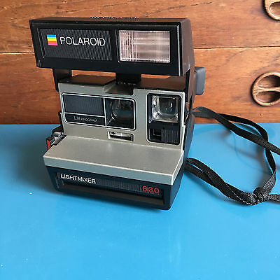 Appareil photo Polaroid 600 Land Camera Lightmixer 630 avec flash