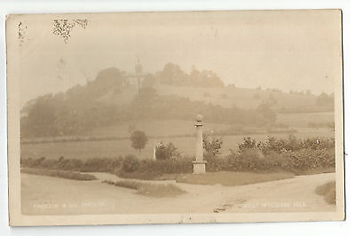 Bucks West Wycombe Hill 1906 Real Photo Vintage Postcard 7.1