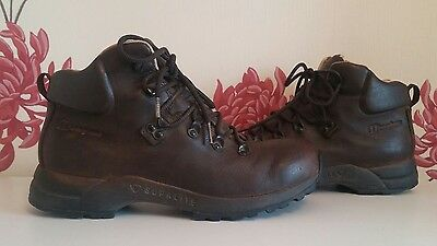 Berghaus Supalite Gore-Tex Brown Leather Ladies Mens Hiking Boots Size 8 Uk