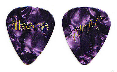 The Doors Robby Krieger Signature Promotional Purple Pearl Guitar Pick - 2017
