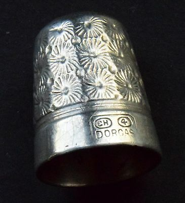 Vintage Silver Plated Charles Horner Dorcas 4 Thimble