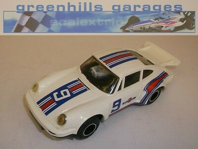 Greenhills Scalextric Porsche 911 Martini No 9 C125 Used 18858