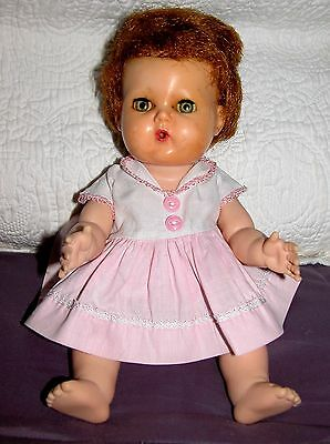 """American Character 12"""" Tiny Tears Doll All Original"""