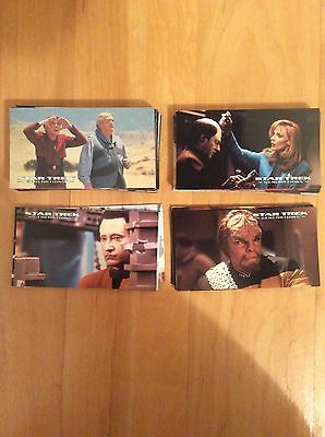 Star Trek Generations Movie Widevision Trading Card Set 1994 from Skybox