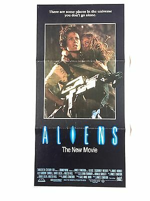 Aliens James Cameron daybill original cinema poster 1986