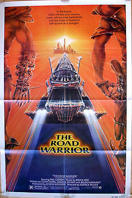 Mad Max 2 The Road Warrior one sheet poster Mel Gibson