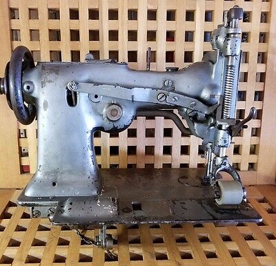 SINGER 107W15 Single Needle Zig Zag Puller Industrial Sewing Machine Head Only