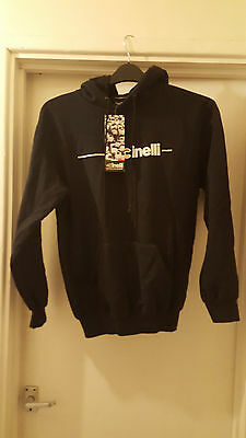 Cinelli Black Hoodie Small With Tags