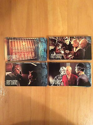 Star Trek Next Generation First Contact Movie Widevision Trading Card Set 1996