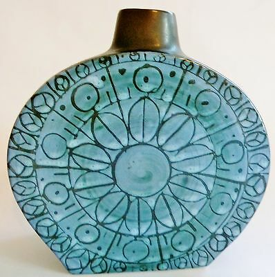 A  rare Troika Pottery vase or sculpture,   free postage named to base