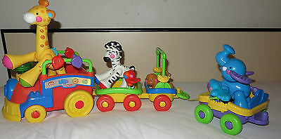 Fisher-Price Eisenbahn Amazing Animals Musikzug Mattel K4222