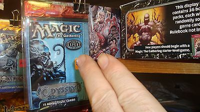 Odyssey Booster x1 New Unopened Magic the Gathering MTG