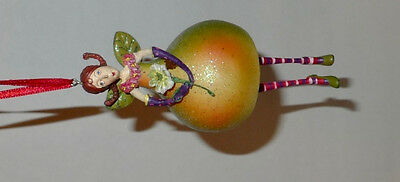 Krinkles Dept 56 Pear Fairy/Pear Tree Col. Christmas Ornament Patience Brewster
