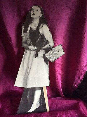 Wizard of Oz die cut Dorothy table standee- late 70's