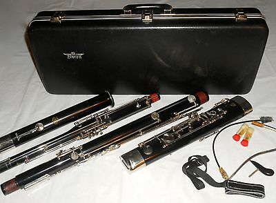 Linton Bassoon 5K In Original Case - Very Nice