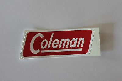 Coleman Can 1950's Water Resistant Paper Replacement Lantern Decal *liquidation*