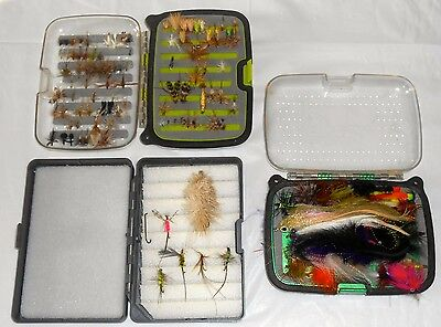 Lot Of 230+ Vintage Hand Tied Fly Fishing Dry Flies Lures - Estate Collection