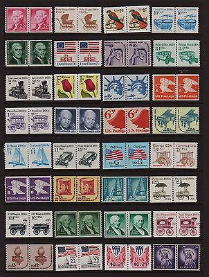 U.S. Beautiful Selection of 61 different definitive coil pairs - see 2 scans !