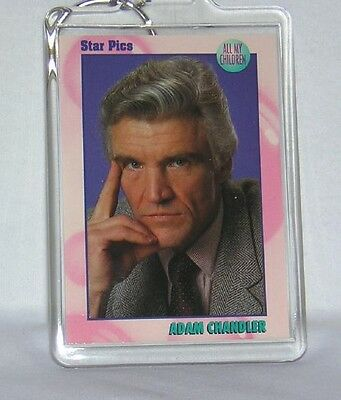All My Children AMC David CANARY Adam CHANDLER KEYCHAIN NEW