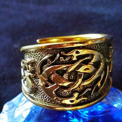Kelten Ring 3 Bronze Wikinger Viking Celtic LARP