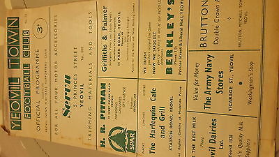 Yeovil  town  v  Weymouth  test match 1960.61