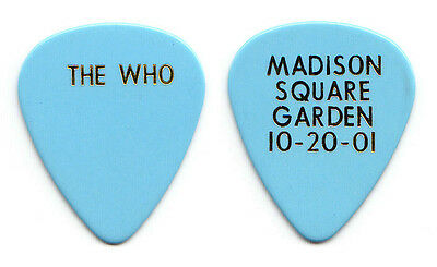 The Who Pete Townshend Concert For NYC 911 Benefit MSG Guitar Pick - 2001 Tour