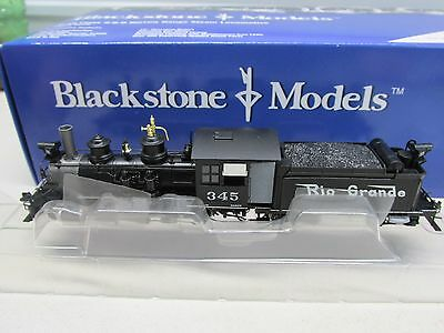 Hon3 Scale~Blackstone~Rio Grande Western C-19 Class 2-8-0 Locomotive~Sound-Dcc