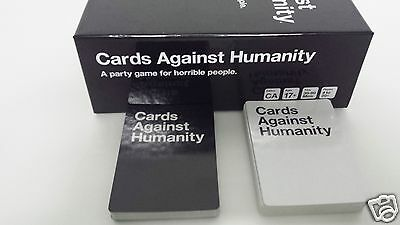 Cards Against Humanity Party Game Adult Family Friends Fun Pack Free Shipping