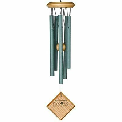 Woodstock Chimes Windchime Aluminium Verdigris Green Wind Chime