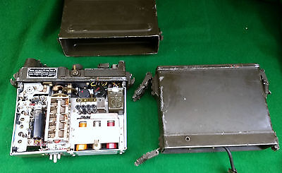 AUCTION: US Military Radio PRC-10 as found untested. Manpack Backpack Unit