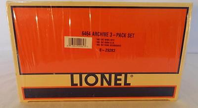 Lionel 6-29282 6464 Boxcar ARCHIVE Set 29283 29284 29285 NYC GN Seaboard SEALED