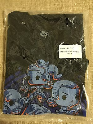 """Funko Star Wars Smuggler's Bounty Exclusive: Black """"Rebels"""" T-Shirt - Size S NEW"""