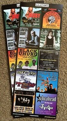 sept 2000 los angeles handbill Moby The Other Ones David Grey Dar Williams