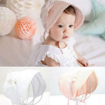 Toddler Infant Baby Girl Outdoor Bucket Hat Summer Sun Beach Beanie Bonnet Cap J