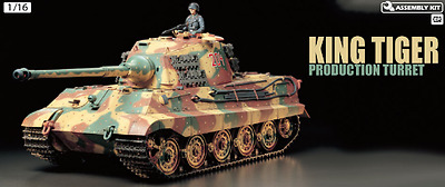 Tamiya 1/16 King Tiger (Production Turret) RC Radio Control Tank Brand New 56018