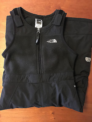 The North Face Toddler Insulated Bib Snow Pants 3T Black