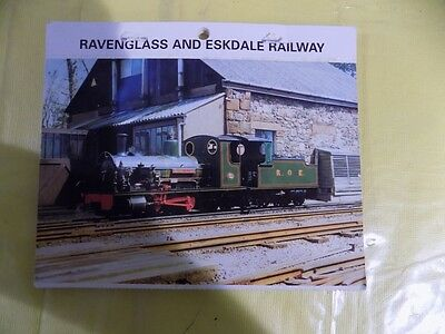 Ravenglass and Eskdale Miniature Railway Booklet of Postcards