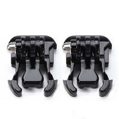 2pcs Quick Release Flat Buckle Clip Mount Base Adapter for Gopro Hero Carmera