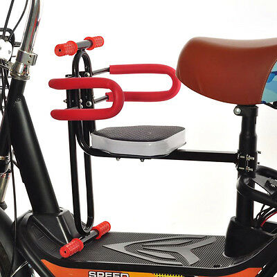 Portable Bike Bicycle Child Front Seat Saddle E-bike Children Kids Baby Carrier