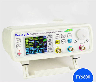 2017 50MHz FeelTech FY6600 DDS Function Arbitrary Waveform Signal Generator VCO
