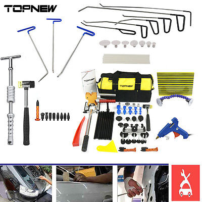 PDR Rods Line Board Tools Hail Puller Removal Paintless Dent Repair Lifter Kits
